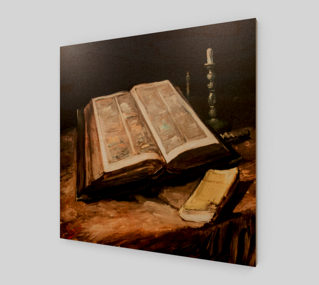 Bible by Vincent Van Gogh Painting | Fine Arts - Fine Art