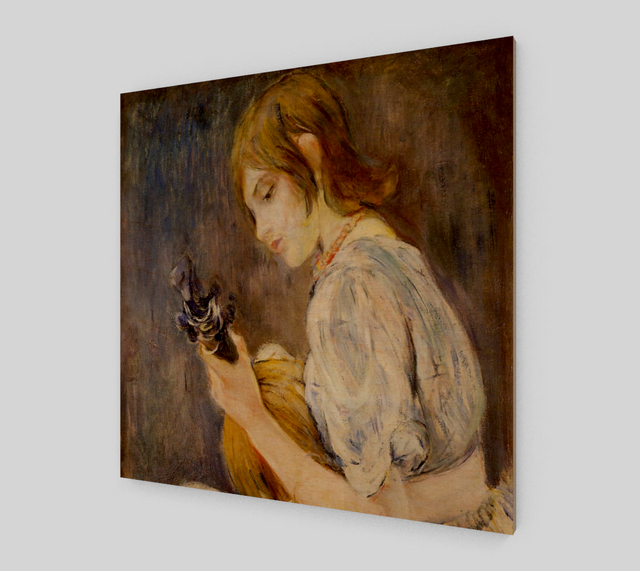The Mandolin Famous Painting - Berthe Morisot [Fine Art Reproductions]