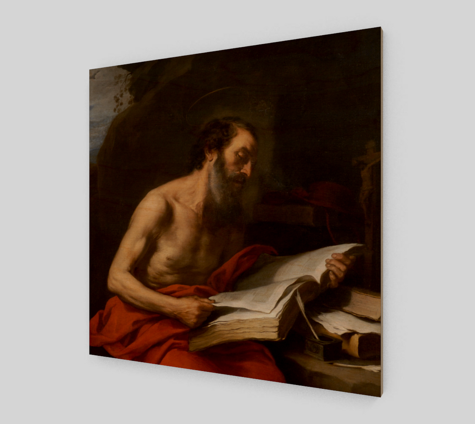 St. Jerome by Bartolome Esteban Murillo | Fine Art Prints On Canvas