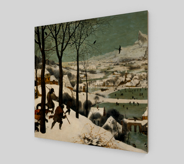 The Hunters in the Snow by Pieter the Elder Bruegel | Fine Arts