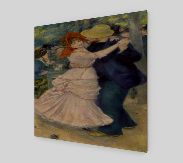 Dance at Bougival by Pierre-Auguste Renoir Painting