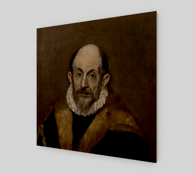 El Greco Self-portrait | Canvas Fine Art Reproduction