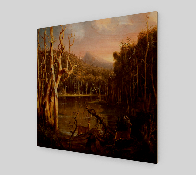 Lake with Dead Trees by Thomas Cole | Canvas Fine Art Prints