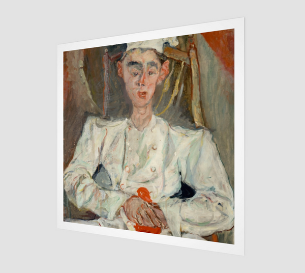 Pastry Cook with Red Handkerchief by Chaim Soutine