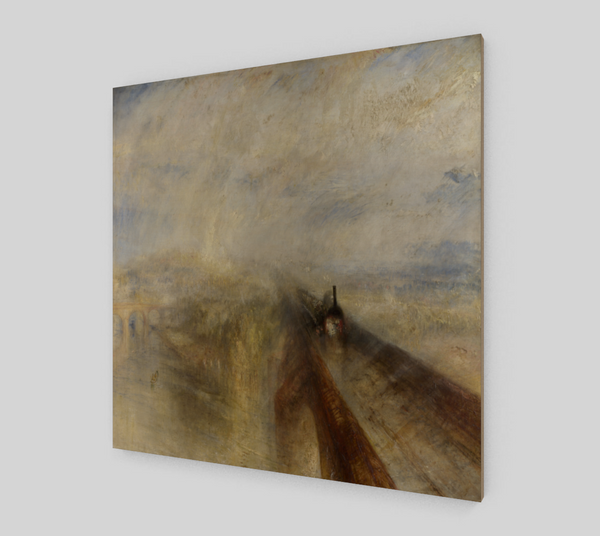 Rain, Steam and Speed – The Great Western Railway Painting by J. M. W. Turner