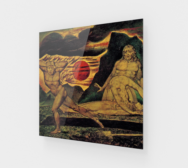 The Body of Abel Found by Adam and Eve by William Blake [Acrylic Wall Art Decor]