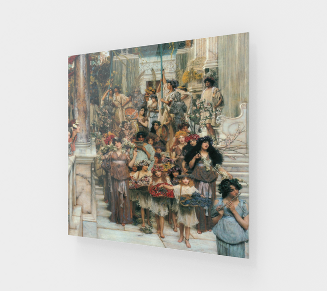 Spring by Lawrence Alma Tadema | Fine Arts Prints