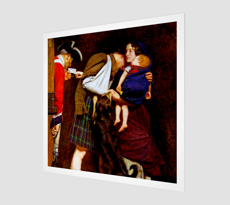 The Order of Release by John Everett Millais | Fine Arts