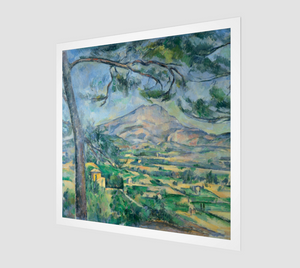 Mont Sainte-Victoire with Large Pine, by Paul Cézanne [Museum Quality Fine Art Prints]
