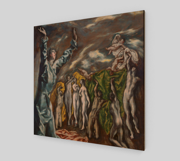 Opening of the Fifth Seal by El Greco | Canvas Fine Arts