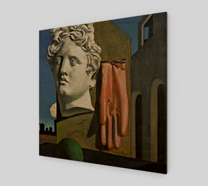 The Song of Love by Giorgio de Chirico [Wooden Canvas Prints]