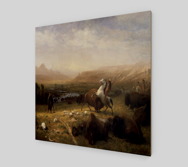 The Last of the Buffalo by Albert Bierstadt [Art Reproductions]
