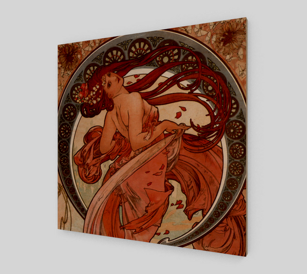 Dance by Alphonse Maria Mucha | Fine Art Prints On Canvas