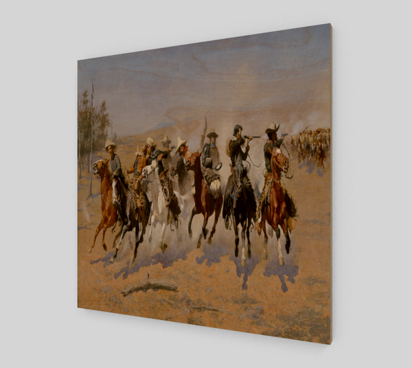 A Dash for the Timber by Frederic Remington - Fine Art