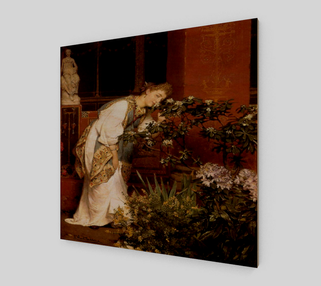 In the Peristyle by Lawrence Alma Tadema | Fine Arts Prints