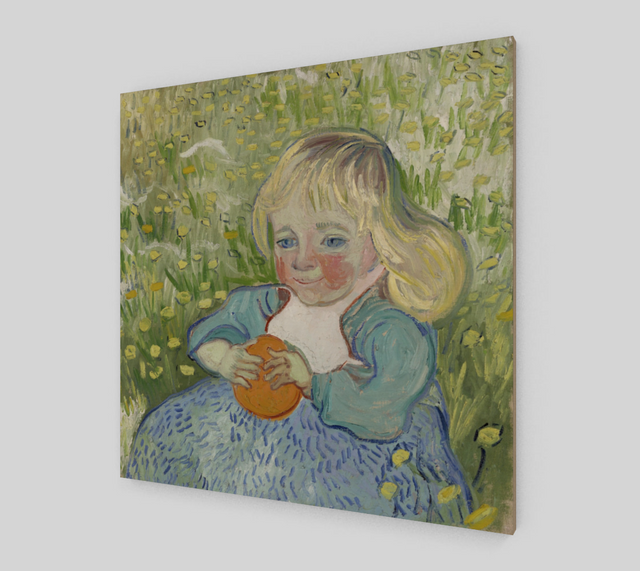 Child with Orange by Vincent Van Gogh Painting | Fine Arts
