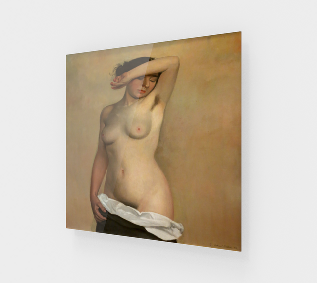 Nude by Felix Vallotton - Famous Paintings