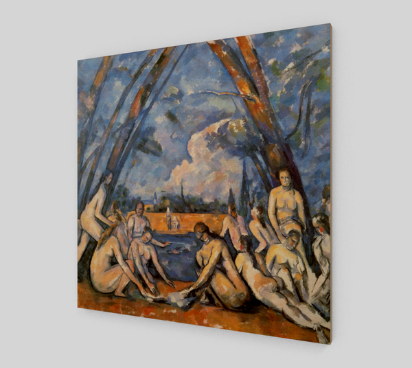 The Large Bathers by Paul Cézanne | Fine Arts