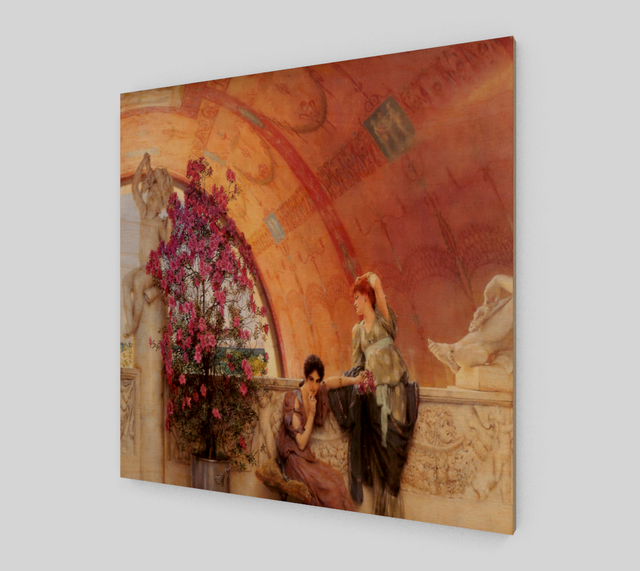 Unconscious Rivals by Lawrence Alma Tadema | Fine Arts Prints