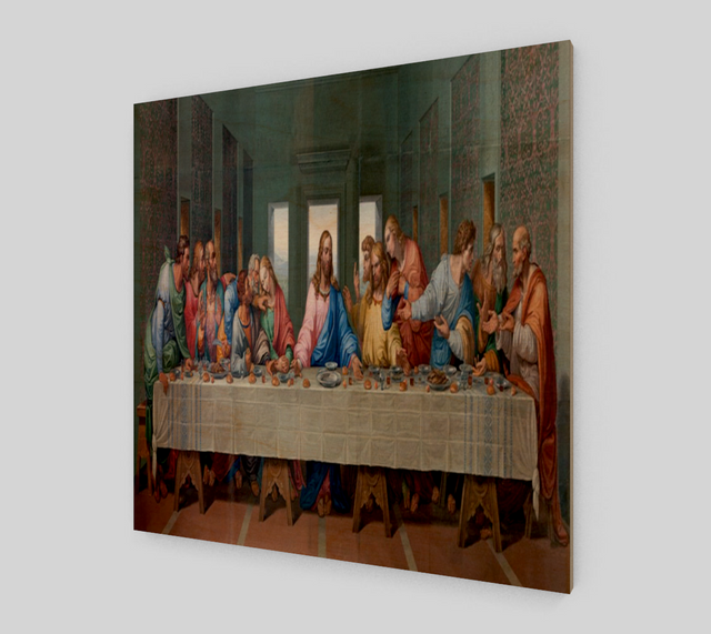 The Last Supper Painting by Leonardo da Vinci