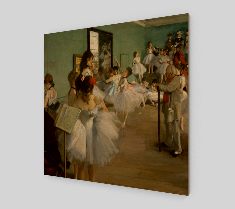 Dance Class by Edgar Degas | Fine Art Reproductions