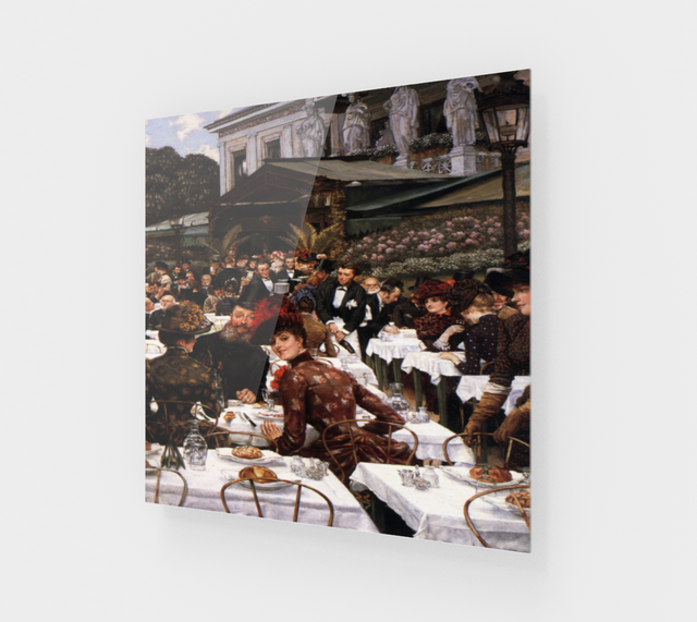 The Artist's Ladies By James Tissot [Acrylic Wall Art Decor]