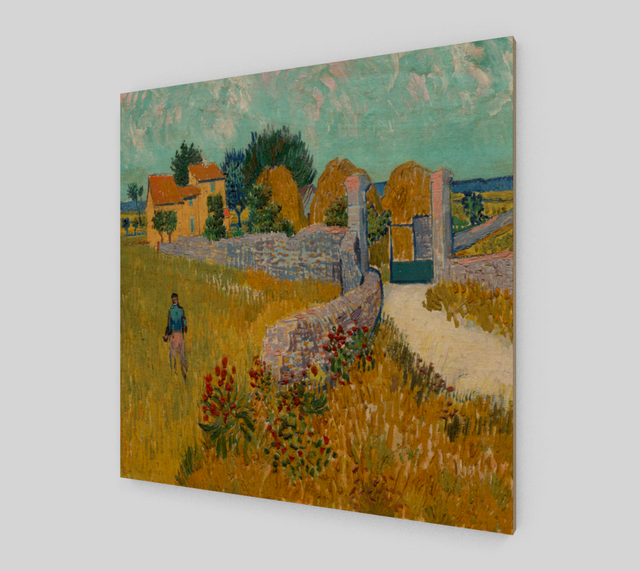 Vincent van Gogh's farmhouse in Provence by Vincent Van Gogh