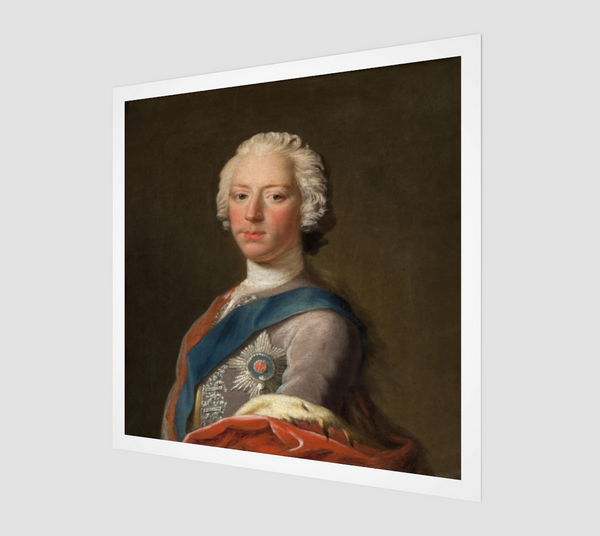 Lost portrait of Charles Edward Stuart by Allan Ramsay [Museum Quality Fine Art Prints]