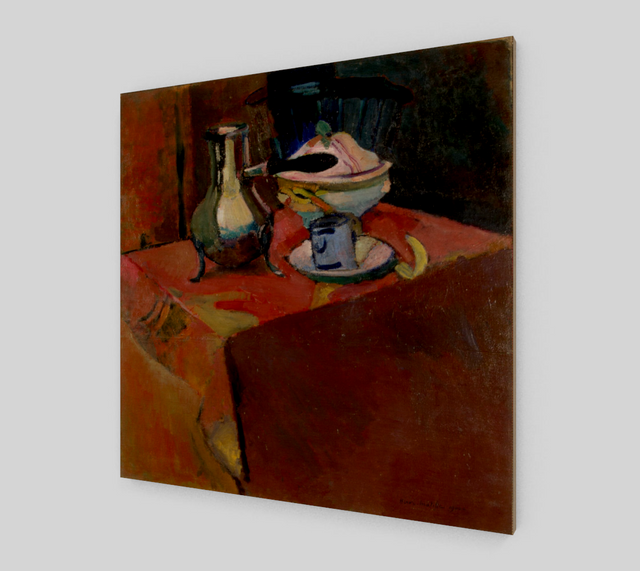 Crockery on a Table by Henri Matisse Paintings