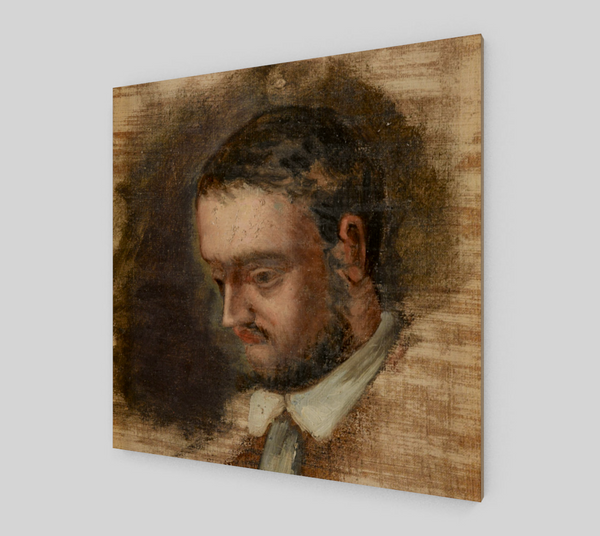 Portrait Of Emile Zola, by Paul Cezanne [Art Reproductions]