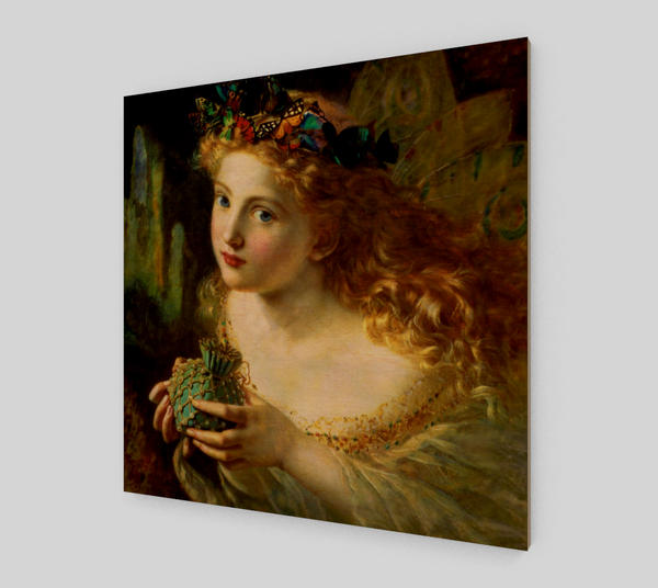 A portrait of a fairy by Sophie Gengembre Anderson | Fine Arts - Fine Art