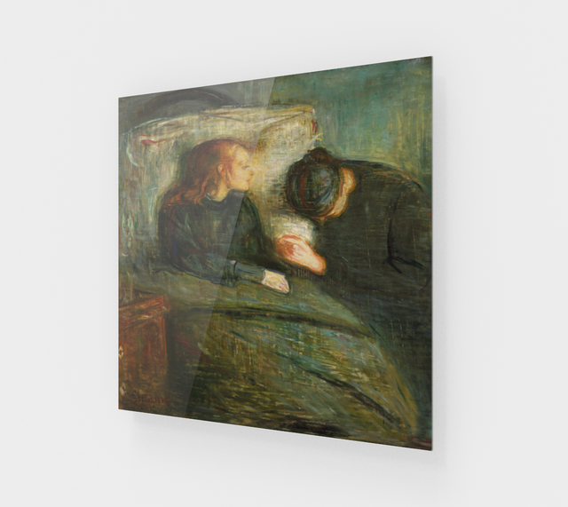 Edvard Munch, The Sick Child [Acrylic Wall Art Decor]