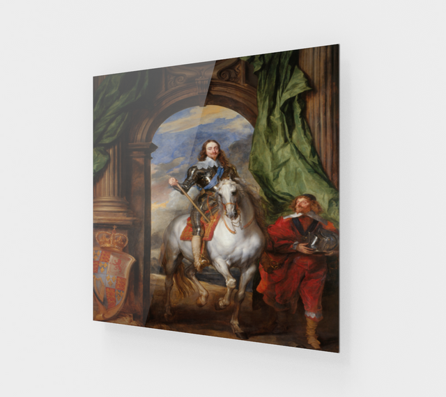 Charles I with M. de St Antoine | Fine Art Reproductions