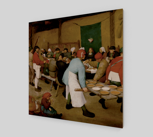The Peasant Wedding by Pieter the Elder Bruegel | Fine Arts