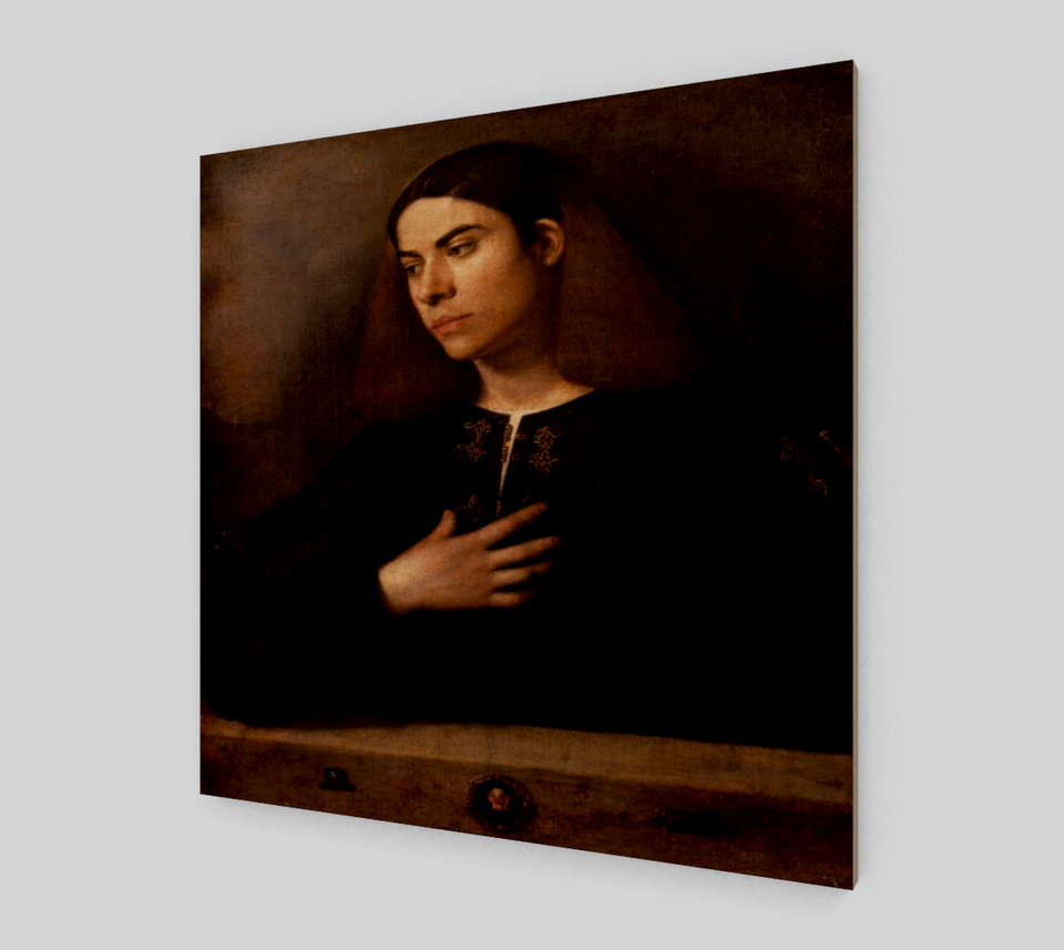Portrait of a Young Man by Giorgione - Famous Painting