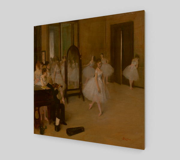 The Dancing Class by Edgar Degas | Fine Art Reproductions