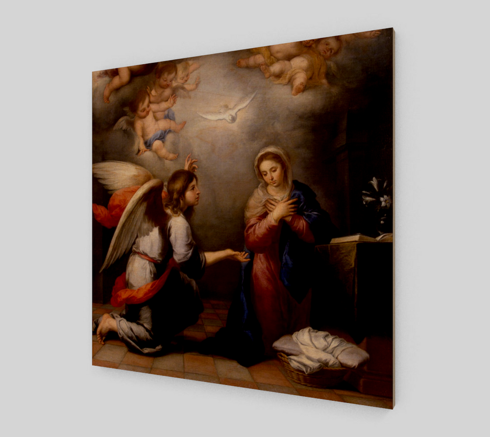 Annunciation by Bartolome Esteban Murillo | Fine Art Prints On Canvas