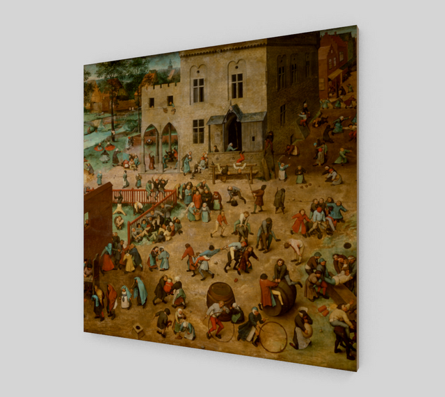 Children's Games by Pieter the Elder Bruegel | Canvas Fine Arts