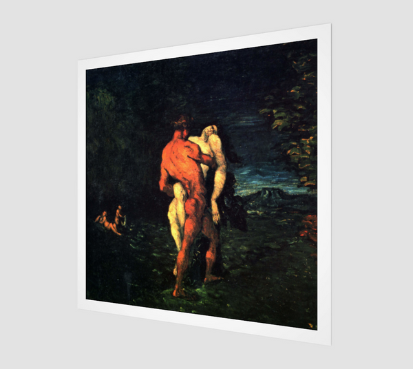 The Abduction by Paul Cezanne, 1867