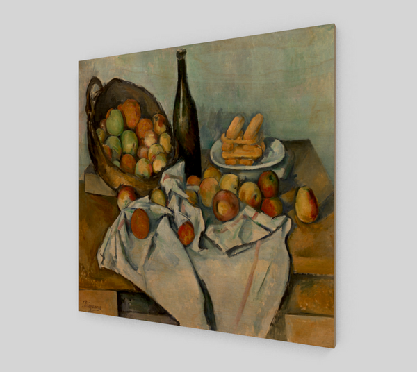 The Basket of Apples Still life by Paul Cézanne