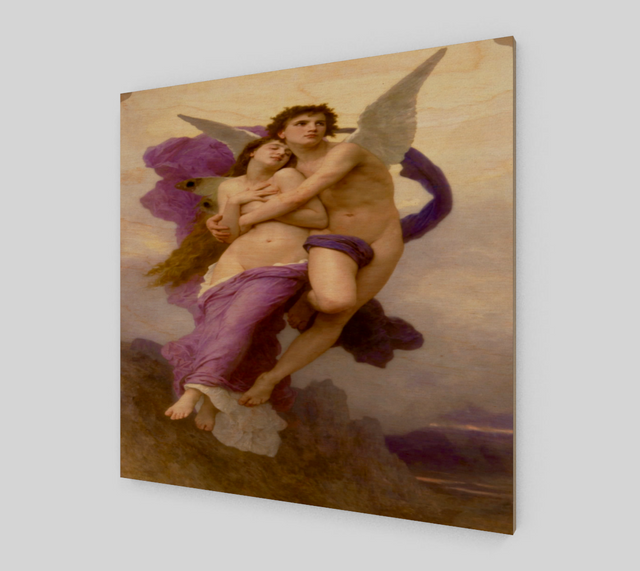 The Abduction of Psyche William-Adolphe Bouguereau [Art Reproductions]