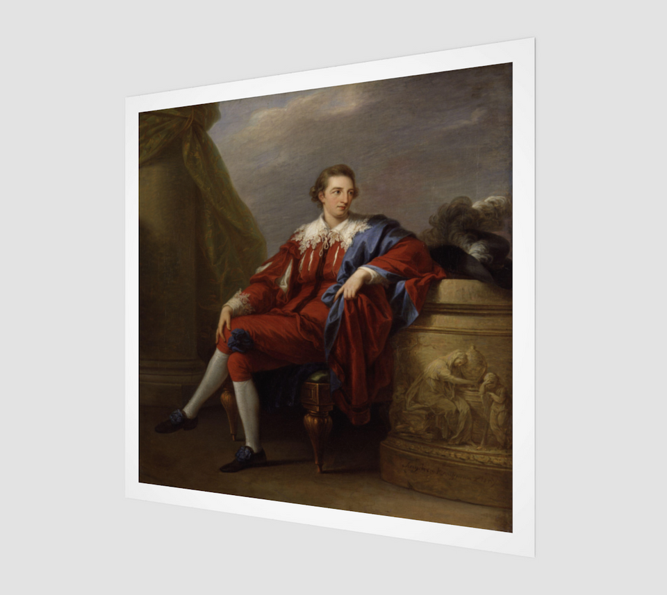 Portrait of John Simpson by Angelica Kauffmann [Museum Quality Fine Art Prints]