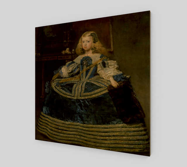 Infanta Margarita in a Blue Dress by Diego Velazquez | Fine Arts