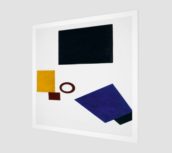 Suprematism. Self Portrait in Two Dimensions by Kazimir Malevich