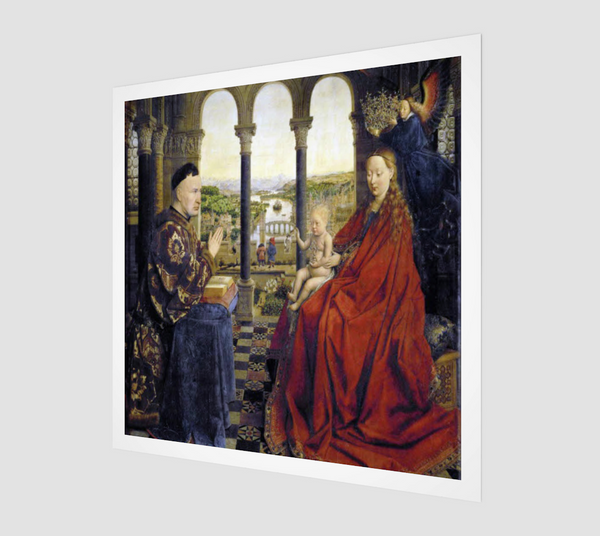 Madonna-of-Chancellor-Rolin-Print