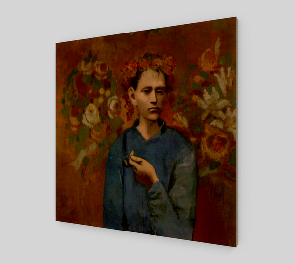 Garçon à la Pipe (Boy with a Pipe) [Wooden Canvas Prints]