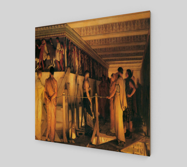 Phidias Showing the Frieze by Lawrence Alma Tadema | Fine Arts Prints