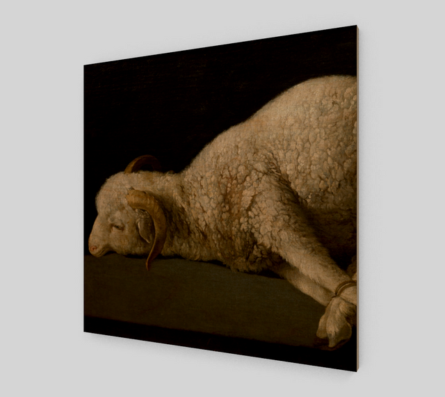 Agnus Dei by Francisco de Zurbaran | Canvas Fine Arts - Fine Art