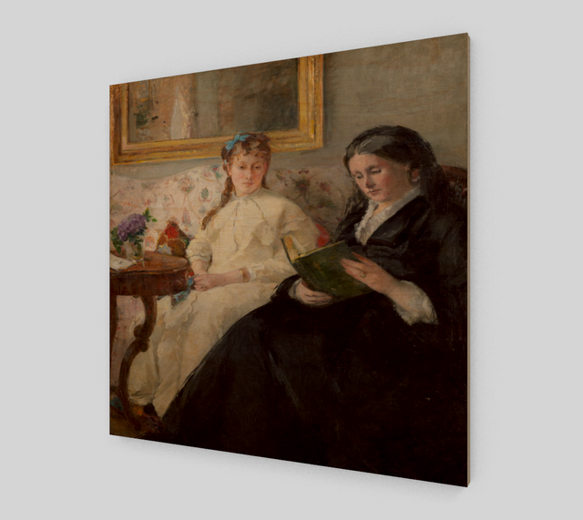 The Mother and Sister of the Artist [Fine Art Reproductions]