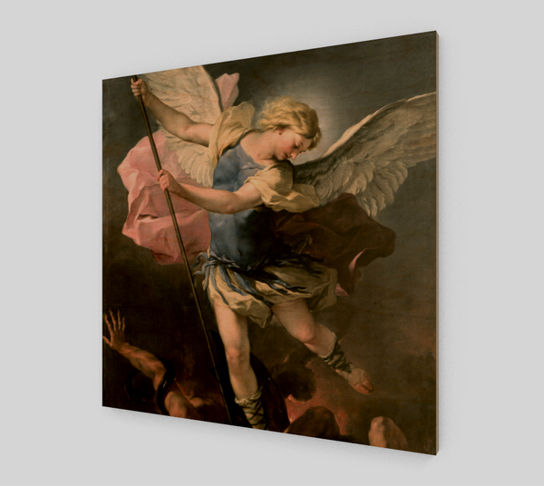 St. Michael by Luca Giordano | Canvas Fine Arts